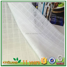 Modern plain solid sheer voile window curtain, ready made tab top sheer voile panel cheap window curtains
