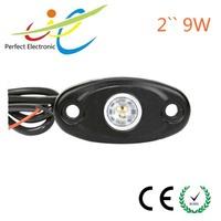 9 Watt Multifunction Rigid Led Side Marker Lamp Rock Light, Led Tail Dome Light 2 Inch