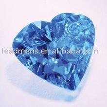 brilliant heart cut sapphire gems