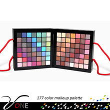 wholesale 177 color portable full face makeup kit for travel long lasting make-up