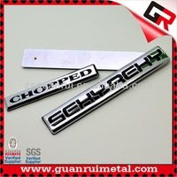 New Cheapest auto accessories chrome emblems