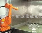 Electrostatic coating line liquid and powder coating available UV coating curing