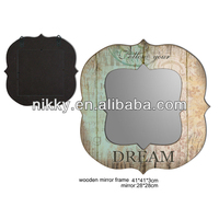 creative mirror, square wall mirror and decorative mirror for home decor