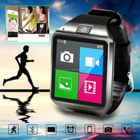 Unlocked watch phone New Products Fashion Design Touch Screen bluetooth SIM camera watch