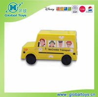HQ7985 mini bus with EN71 standard for promotion toy