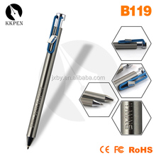 Gold Plating Clip Metal Pen High Quality Metal Ball Pen