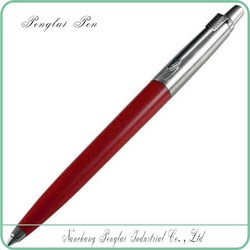 click Medium Point stainless steel metal parker ink refill pen