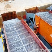 China lead brand sand rotary vibrating screen separator for concrete product production