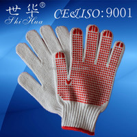 wholesale pvc dotted mechanic glove