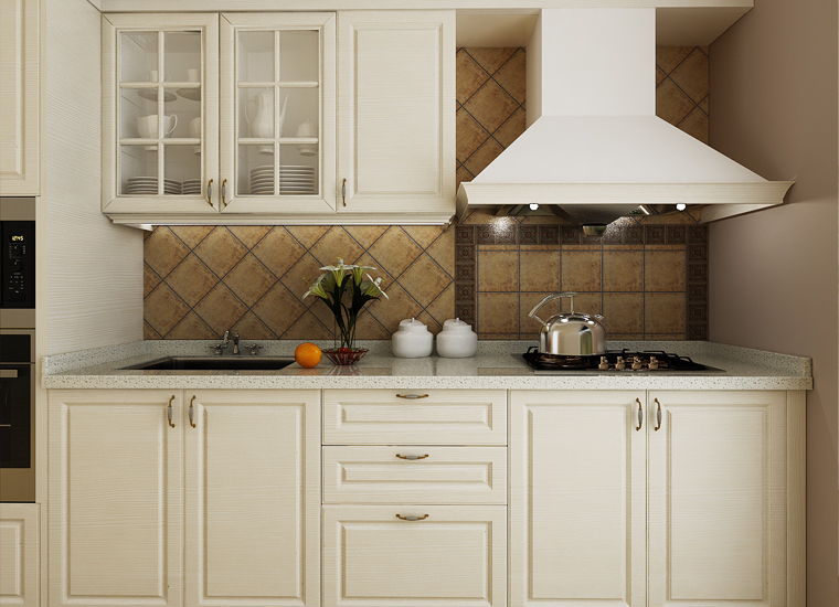7 días de entrega personalizada cocina modular de diseño de muebles ...
