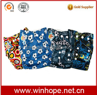 wholesale PUL printed baby cloth diaper cover with Microfiber insert