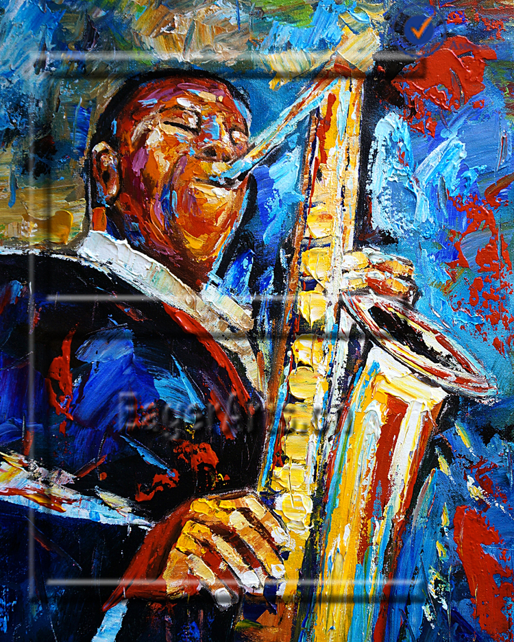 wholesale wholesale oil painting canvas music paintings