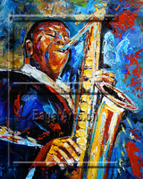 Wholesale Oil Painting Canvas Music Paintings