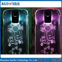 for samsung galaxy s4 led case, led phone case, for samsung galaxy s3 led flash light case