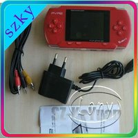 Game player New PVP2 game console ( 16 bits games AV output 5 colors with rertail color box pacckage )