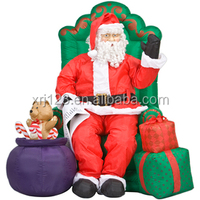 factory supply inflatable Christmas decoration,inflatable Santa Claus,Santa Claus inflatable model