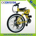 "2015 nuova fabbrica 26"" 36v montagna pieghevole bici elettrica caricabatterie"