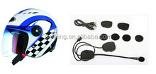 Bluetooth motorcycle helmet headset/interphone with fm radio for motorcycle