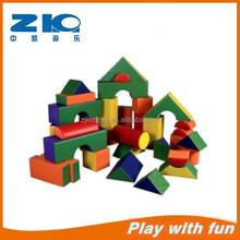 Interesting kids soft toy building blocks