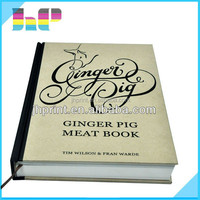 Custom offset hardcover books, low cost quality books printing