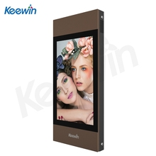 42inch 2500nits high brightness outdoor advertising lcd display with wall mounted type and fan cooling system