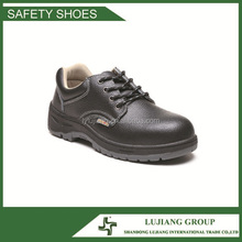 Cheap safety shoes rubber sole,steel toe cap safety shoes short cut