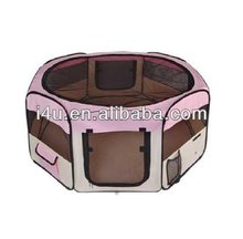 Pink Pet Puppy Dog Playpen Exercise Pen Kennel