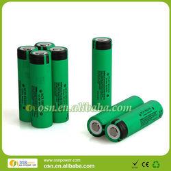 3.7V 18650 3100mah li-ion rechargeable panasonic battery