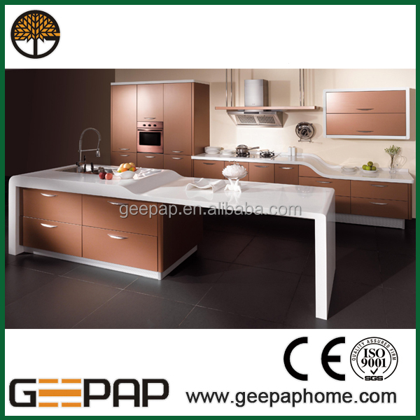 Factory price kitchen cabinet stainless steel modular for Stainless steel kitchen cabinet price