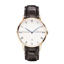 France brand famous fashion watch style oem LOGO custom business watch