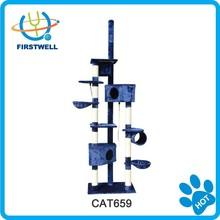 Wholesale cat furniture top sisal cat tree scratcher