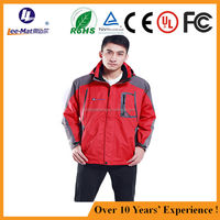 Mens Fashion Battery Heated Hoodie Electric Heating Jacket for cold winter hunting jacket