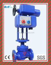 High performance electric solenoid water valve, motorized solenoid control valve, stainless steel flow control valve