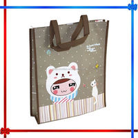 CX72 laminated photo print shopping bag