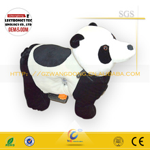 High quality kids ride on animal/ kiddie ride on Panda/ used coin operated kids ride