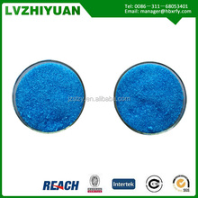 ISO manufacture copper sulphate pentahydrate feed / industrial/fertilizer grade