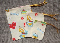 Cotton Pouches, Soft Gift Small Bags