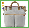2015 Fashion classic Diaper mummy bag front 2 pocket with handle
