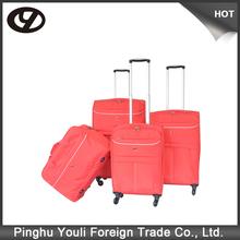 Holiday trolley case and luggage bag eva 3 pcs luggage set