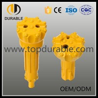 Copper or gold or iron etc mining rock drill bits
