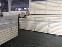 Structural PU insulated sandwich panels for cold storage