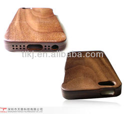 High quality wooden cell phon case cover for iphone 4 4s case