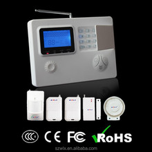 Security Panel for Home, 99 wireless zones LCD display gsm/pstn dual-network home alarm system with voice prompt funciton