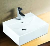 TOTO design above counter top wash basin/bathroom design/ceramic basin(BSJ-A8235)