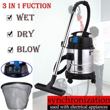 Alibaba Electrical China Product New Design Industry/Commercial Cleaning that use water Wet And Dry Vacuum Cleaner with Wheels