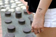 Custom FAKE TATTOOS- Enjoy your life 23d Temporary Tattoo