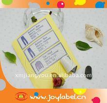 address sticker label