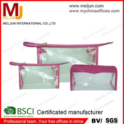 chinese sexy girl like use plastic shopping bag cheap cosmetic bag/purse