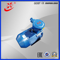 Motor three phase 7.5kw, 10HP AC electric induction motor, 2P explosion proof motor