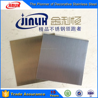 Stainless Steel Sheet Hairline Decorative Finish